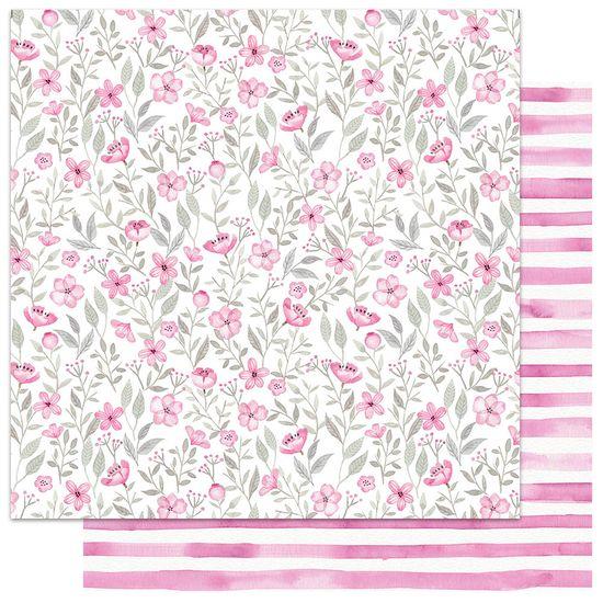 Papel-Scrapbook-My-Memories-Crafts-305x305-MMCMFL-005-My-Flower-Rosa