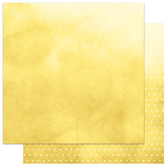 Papel-Scrapbook-My-Memories-Crafts-305x305-MMCMB-002-My-Basics-Poa-Amarelo
