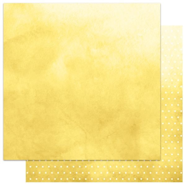 Papel-Scrapbook-My-Memories-Crafts-305x305-MMCMB-002-My-Basics-Poa-Amarelo