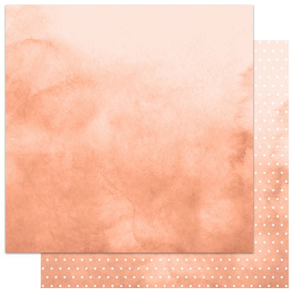 Papel-Scrapbook-My-Memories-Crafts-305x305-MMCMB-003-My-Basics-Poa-Coral