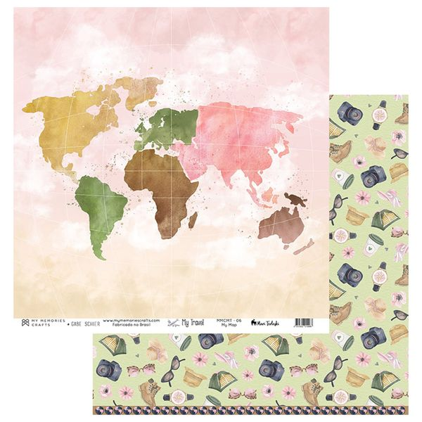Papel-Scrapbook-My-Memories-Crafts-305x305-MMCMT-006-My-Map