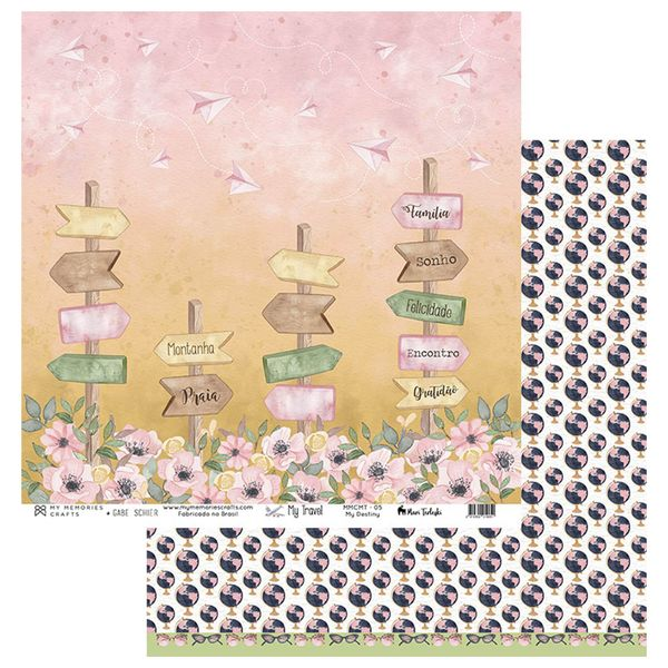 Papel-Scrapbook-My-Memories-Crafts-305x305-MMCMT-005-My-Destiny