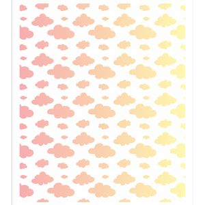 Stencil-OPA-20x25-2866-Infantil-Estamparia-Nuvens-I