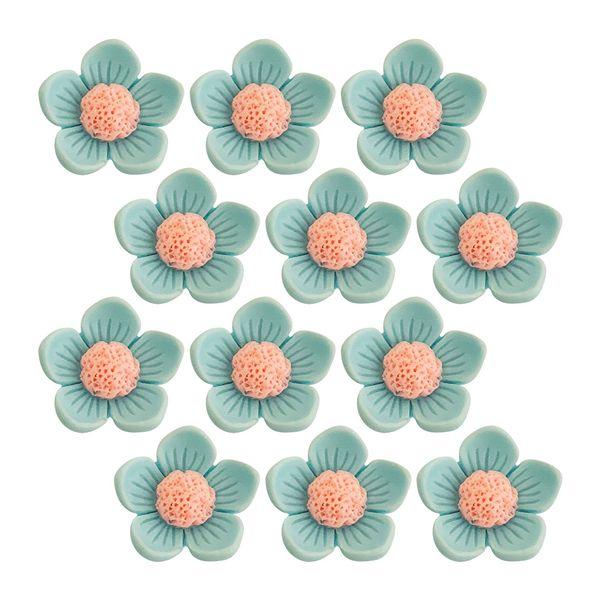 Aplique-Charminhos-para-Artesanato-3D-Make-Mais-com-12-unidades-Florzinha-Azul