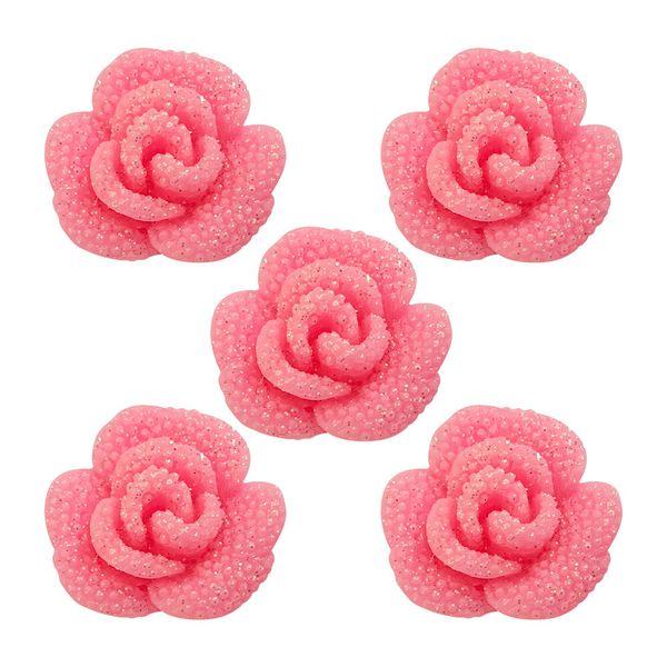 Aplique-Charminhos-para-Artesanato-3D-Make-Mais-com-5-unidades-Rosa-Luxo