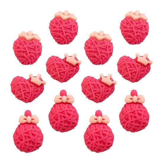 Aplique-Charminhos-para-Artesanato-3D-Make-Mais-com-12-unidades-Delicado-Pink