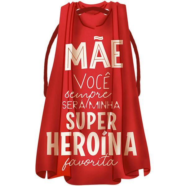 Placa-TAG-MDF-Decorativa-Litoarte-DHT2-163-143x9cm-Capa-Vermelha-Mae-Super-Heroina