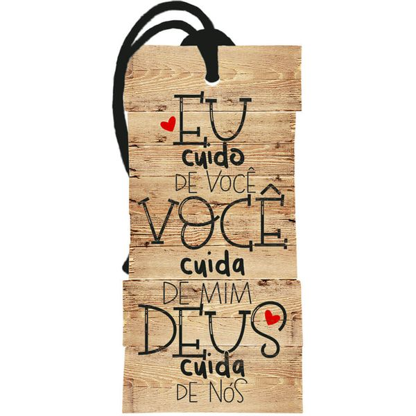 Placa-TAG-MDF-Decorativa-Litoarte-DHT2-164-143x7cm-Amor-Deus-Cuida-de-Nos