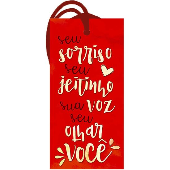 Placa-TAG-MDF-Decorativa-Litoarte-DHT2-166-143x7cm-Amor-Seu-Sorriso