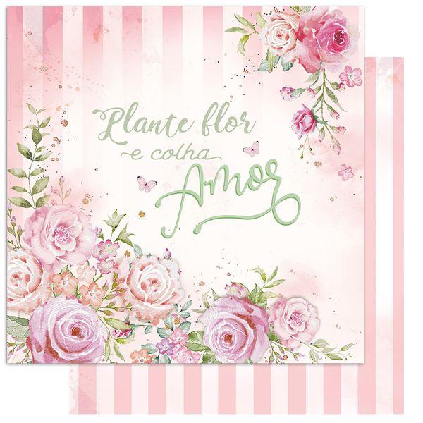 Papel-Scrapbook-Litoarte-15x15-SCXV-001-Rosas-Aquarela
