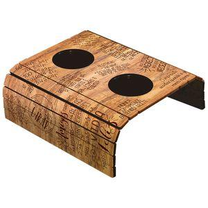 Porta-Copos-Esteira-Americana-para-Sofa-em-Papel-e-MDF-6mm-ASLE-005-42x295cm-com-2-Suporte-Plastico-para-Copos-Madeira-Frases