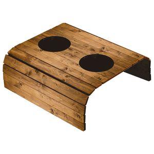 Porta-Copos-Esteira-Americana-para-Sofa-em-Papel-e-MDF-6mm-ASLE-007-42x295cm-com-2-Suporte-Plastico-para-Copos-Madeira