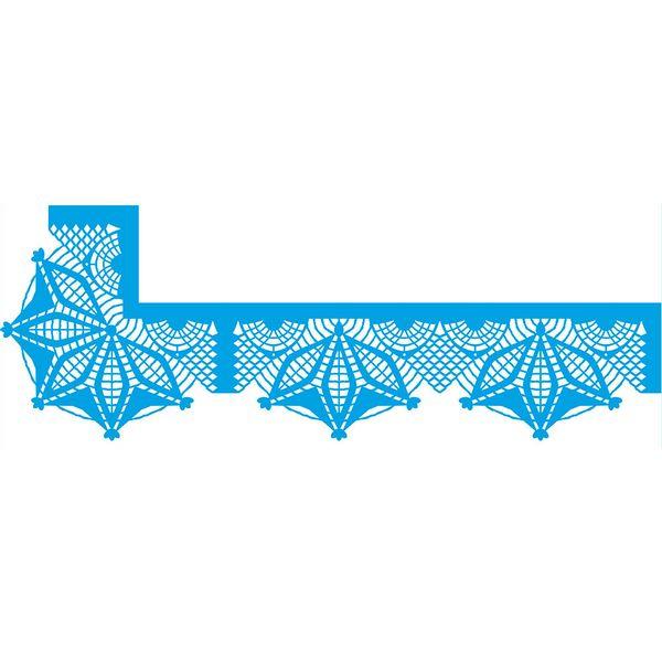 Stencil-Litoarte-42x17-STG1-011-Canto-Mitrado-Renda-Croche