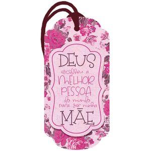 Placa-TAG-MDF-Decorativa-Litoarte-DHT2-160-143x7cm-Deus-Escolheu-a-Melhor-Pessoa