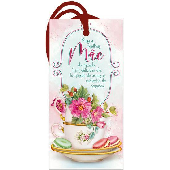 Placa-TAG-MDF-Decorativa-Litoarte-DHT2-162-143x7cm-Para-a-Melhor-Mae
