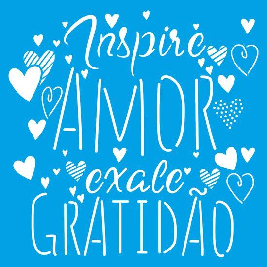 Stencil-Litoarte-20x20-STXX-179-Inspire-Amor-Exale-Gratidao