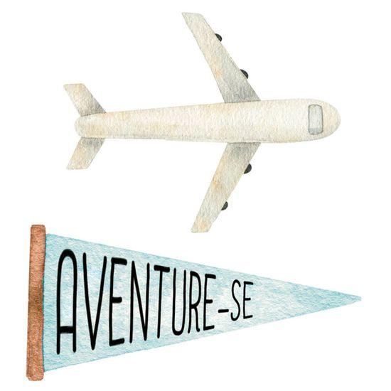Aplique-Decoupage-Litoarte-APM4-426-em-Papel-e-MDF-4cm-Kit-Viagem-Aviao