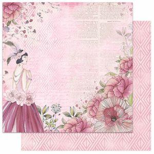 Papel-Scrapbook-Litoarte-305x305-SD-1060-Dama-Flores-Escrita