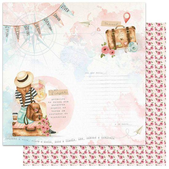 Papel-Scrapbook-Litoarte-305x305-SD-1135-Viagem-Menina