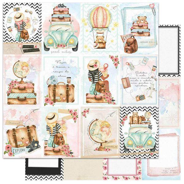 Papel-Scrapbook-Litoarte-305x305-SD-1137-Viagem-Card-Postais