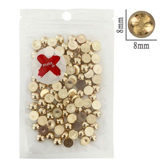 Meia-Perola-KC-Pedra-Decorativa-Make-Mais-17g-8mm-Dourado