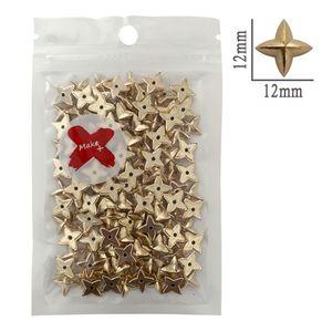 Chaton-Estrela-ABS-Pedra-Decorativa-Make-Mais-17g-12mm-Dourado