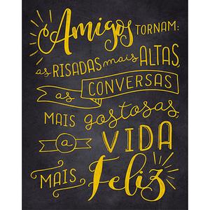 Placa-Decorativa-Litoarte-DHPM-500-24x19cm-Frase-Amigos