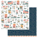 Papel-Scrapbook-My-Memories-Crafts-305x305-MMCMHO-003-My-Home-My-House