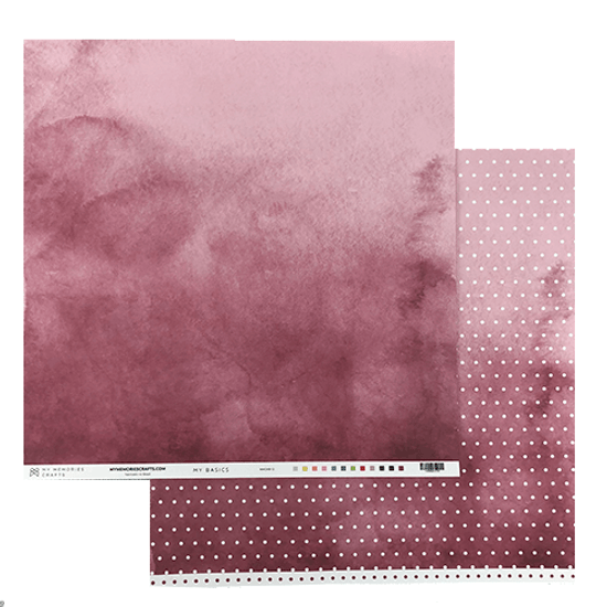 Papel-Scrapbook-My-Memories-Crafts-305x305-MMCMB-012-My-Basics-Marsala