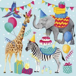 Pacote-Guardanapo-Decoupage-Ambiente-Luxury-ANIMAL-BIRTHDAY-BLUE-13314310-20-unidades-Aninais-Aniversario
