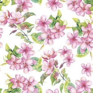 Pacote-Guardanapo-Decoupage-Ambiente-Luxury-CHERRY-BLOSSOM-ROSE-13314295-20-unidades-Flores