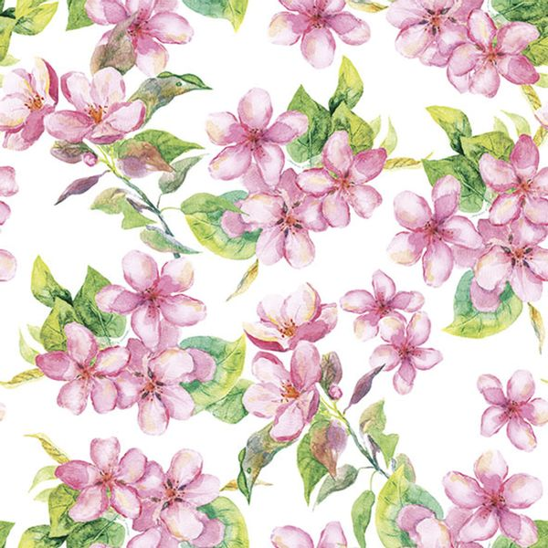 Pacote-Guardanapo-Decoupage-Ambiente-Luxury-CHERRY-BLOSSOM-ROSE-13314295-20-unidades-Flores