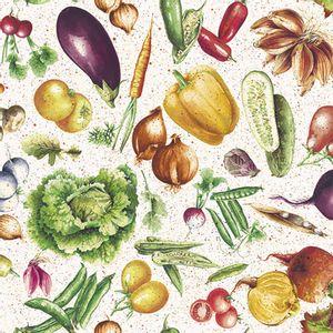 Pacote-Guardanapo-Decoupage-Ambiente-Luxury-VEGETABLES-13314030-20-unidades-Legumes