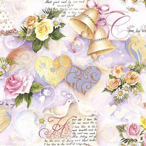 Pacote-Guardanapo-Decoupage-Ambiente-Luxury-WEDDING-BELLS-ROSE-13314110-20-unidades-Sinos-de-Casamento
