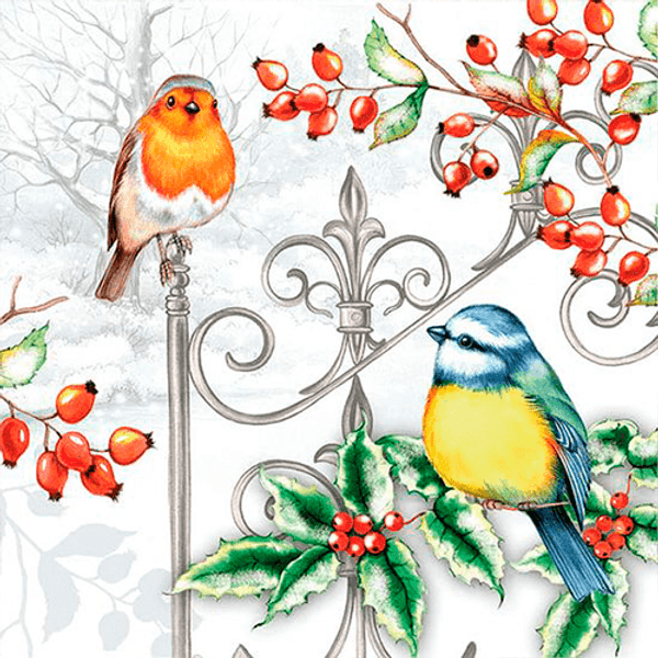 Pacote-Guardanapo-Decoupage-Ambiente-Luxury-BIRDS---HOLLY-33310535-20-unidades-Passaros