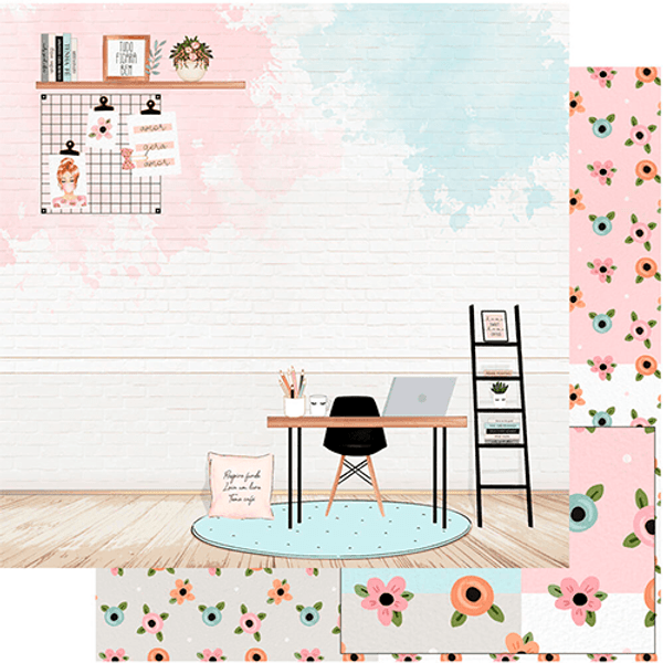 Papel-Scrapbook-Litoarte-SD-1149-Home-Office-305x305cm