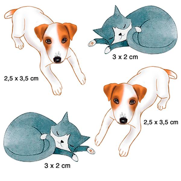 Aplique-Litoarte-em-Papel-Decoupage-e-MDF-Cachorro-e-Gato-APM3-282