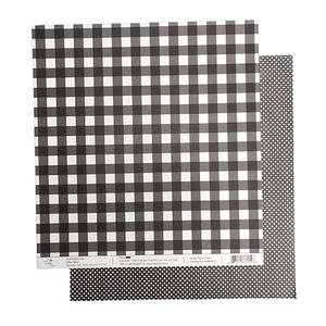 Papel-Scrapbook-Xadrez-e-Losango-305x305cm-PBXL006-Preto-Tulip-Arts