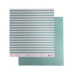 Papel-Scrapbook-Poa-e-Listras-305x305cm-PBLPO004-Verde-Tulip-Arts