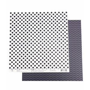 Papel-Scrapbook-Poa-e-Chevron-305x305cm-PBCPO002-Azul-Tulip-Arts