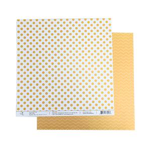 Papel-Scrapbook-Poa-e-Chevron-305x305cm-PBCPO001-Amarelo-Tulip-Arts