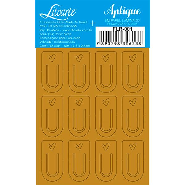 Aplique-em-Papel-Laminado-Litoarte-Dourado-FLR-001-Clips-7x85cm