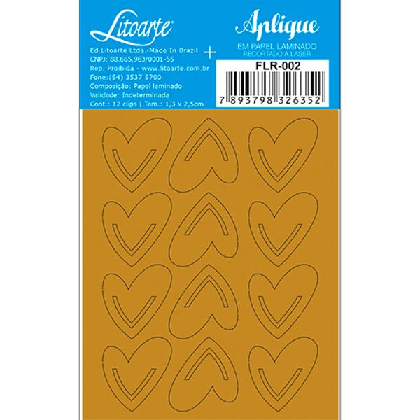 Aplique-em-Papel-Laminado-Litoarte-Dourado-FLR-002-Clips-Coracoes-7x85cm