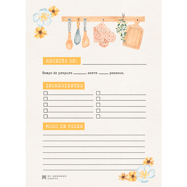 Bloco-ou-Caderno-de-Receitas-My-Memories-Crafts-15x21cm-A5-MMCMK-011-My-Kitchen