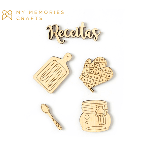 Kit-Madeirinhas-Adesivadas-My-Memories-Crafts-8x11cm-MMCMK-009-My-Kitchen-Receitas