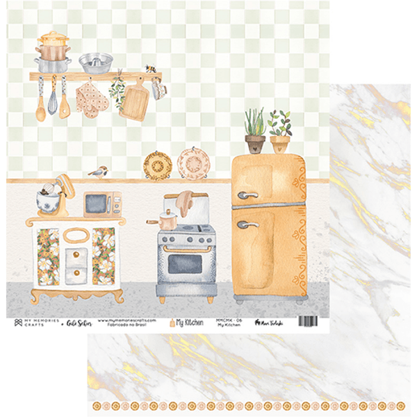 Papel-Scrapbook-My-Memories-Crafts-305x315-MMCMK-006-My-Kitchen