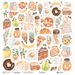 Papel-Scrapbook-My-Memories-Crafts-305x315-MMCMK-002-My-Kitchen-My-Food