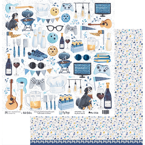 Papel-Scrapbook-My-Memories-Crafts-305x315-MMCMBO-002-My-Boys-My-Blue-World