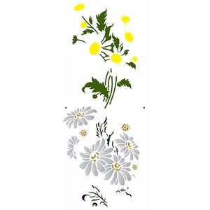 Stencil-OPA-Simples-17x42-OPA2948-Flores-Margaridas