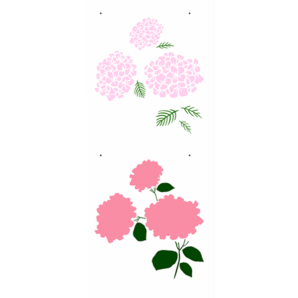 Stencil-OPA-Simples-17x42-OPA2945-Flores-Hortensias